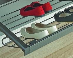 מתקן אחסון נעליים מתכת