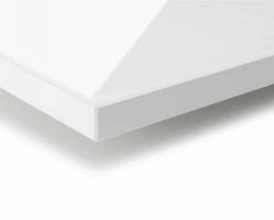 """לוח קריסטל V2778 לבן גודל 280X130 ס""""מ עובי 19 מ""""מ"""