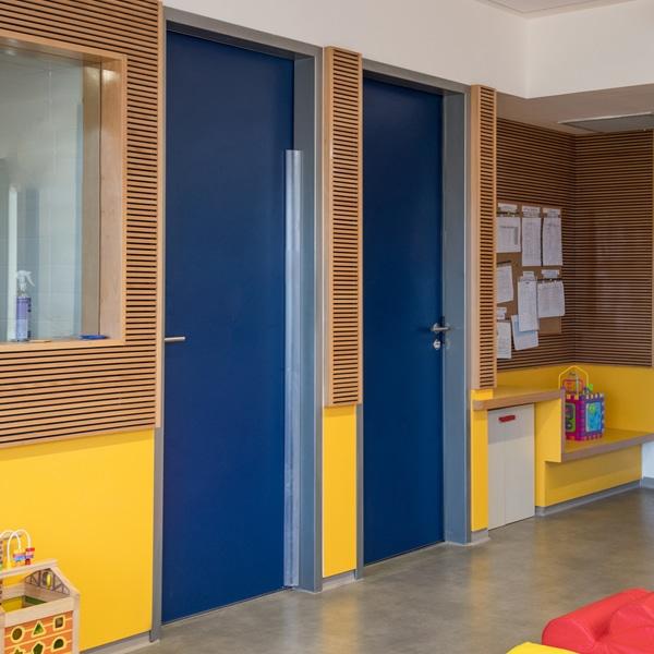 דלתות עץ מוסדיות, דלתות אש ודלתות אקוסטיות – WESTAG גרמניה