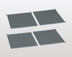 סט 4 שטיחים נגד החלקה למג'יק קורנר COMFORT