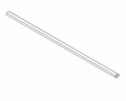 """מוט סינכרוני V3) 962) מ""""מ לחיתוך לפי מידה GRASS"""