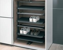 """מתקן מסתובב לנעליים לפנים הארון 800X1000X365 מ""""מ"""