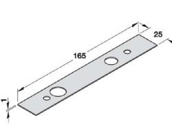 """כיסוי לחלק האמצעי של החלק העליון 165/25 ס""""מ"""