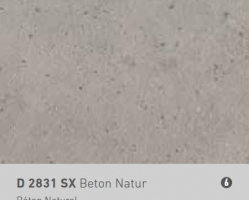 משטח עב D2831SX   NATConcrete 2800X2070X12.4 CDF