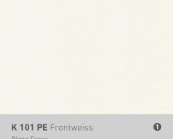 לוח CDF לבן K101PE Front White  2800X2070X10.4