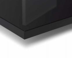 """לוח בריליינט גוון 5112B שחור 280X130 ס""""מ עובי 2 ס""""מ"""