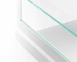 דופן הגבהה זכוכית קריסטל למגירות GRASS