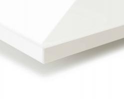"""לוח קריסטל V2892 לבן עתיק פנינה  280X130 ס""""מ עובי 19 מ""""מ"""